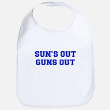 SUNS-OUT-GUNS-OUT-FRESH-BLUE Bib