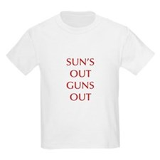 SUNS-OUT-GUNS-OUT-OPT-RED T-Shirt