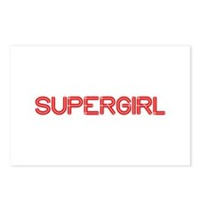 supergirl-so-red Postcards (Package of 8)