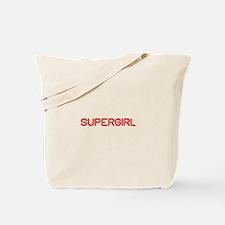 supergirl-so-red Tote Bag