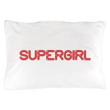 supergirl-so-red Pillow Case