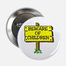 BEWARE CHILDREN Button