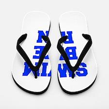 SWIM-BIKE-RUN-FRESH-BLUE Flip Flops