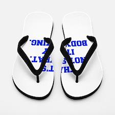 THATS-NOT-SWEAT-FRESH-BLUE Flip Flops