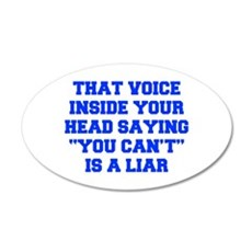 THAT-VOICE-INSIDE-YOUR-HEAD-FRESH-BLUE Wall Decal