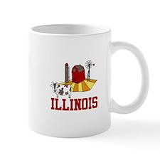 ILLINOIS Mugs