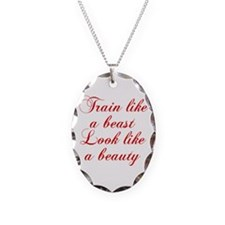 TRAIN-LIKE-A-BEAST-cho-red Necklace