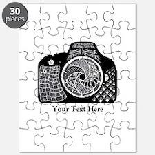 Original Camera Art Personalizable Puzzle