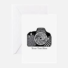 Original Camera Art Pers Greeting Cards (Pk of 20)