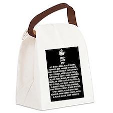 Unique Keepcalm Canvas Lunch Bag