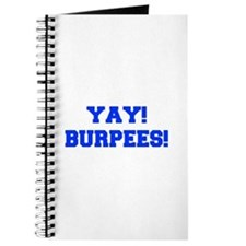 YAY-BURPEES-FRESH-BLUE Journal