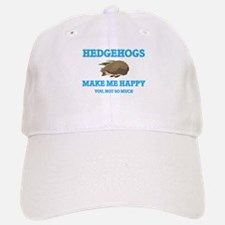 Hedgehogs Make Me Happy Baseball Baseball Cap