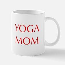 YOGA-MOM-OPT-RED Mugs