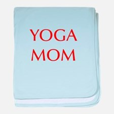 YOGA-MOM-OPT-RED baby blanket