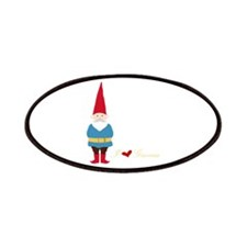 I L ove Gnomes Patches
