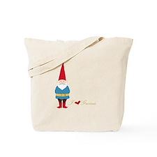 I L ove Gnomes Tote Bag