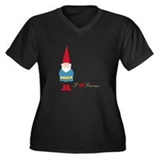 I L ove Gnomes Plus Size T-Shirt