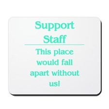 Place would fall apart..... Mousepad