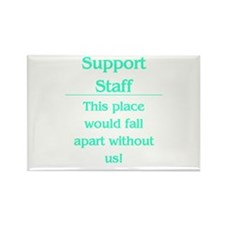 Place would fall apart..... Rectangle Magnet (10 p