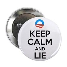 "Keep Calm And Lie 2.25"" Button"