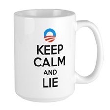 Keep Calm And Lie MugMugs