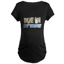 Due in September Boy T-Shirt