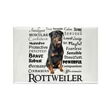 Rottie Traits Magnets
