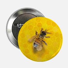 """Artsy Bee 2.25"""" Button"""