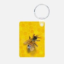 Artsy Bee Keychains