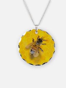 Artsy Bee Necklace