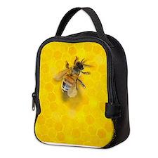 Artsy Bee Neoprene Lunch Bag