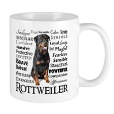 Rottie Traits Mugs