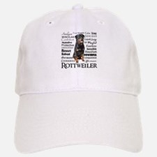 Rottie Traits Baseball Baseball Baseball Cap