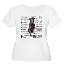 Rottie Traits Plus Size T-Shirt