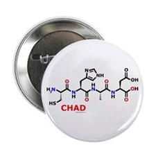 Chad name molecule Button