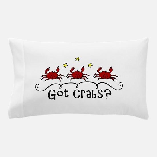 Got Crabs? Pillow Case