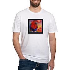 Red Eclectus Parrot Shirt