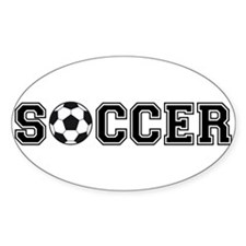 soccer with ball Decal