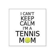 I cant keep calm, I am a tennis mom Sticker