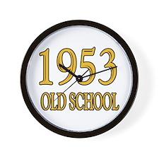 1953 Old School Wall Clock