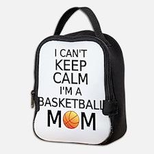 I cant keep calm, I am a basketball mom Neoprene L