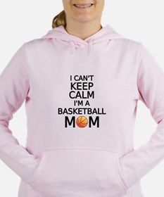I cant keep calm, I am a basketball mom Women's Ho