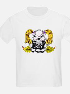 PonyTail Skull T-Shirt