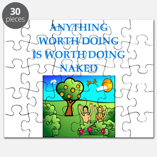 do it naked Puzzle