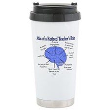 Cute Retired biology teacher Travel Mug