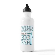 Wind Power Big Fan Water Bottle