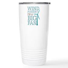 Wind Power Big Fan Travel Mug