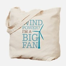 Wind Power Big Fan Tote Bag