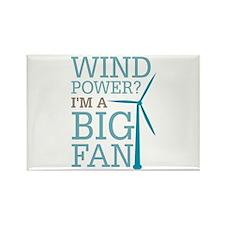 Wind Power Big Fan Rectangle Magnet