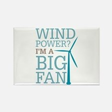 Wind Power Big Fan Rectangle Magnet
